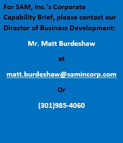 Corporate Capabilities Point of Contact
