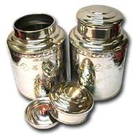 1 LB Stainless Steel Empty Can (2 Lits)