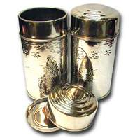 5.3 oz Stainless Steel Empty Can (2 Lits