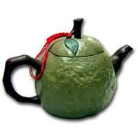 Guava Clay Tea Pot