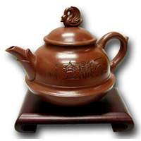 Goose Clay Tea Pot